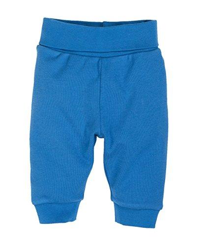 Schnizler Baby - Jungen Hose Babyhose Jogginghose mit elastischem Bauchumschlag, Oeko - Tex Standard 100, Gr. 68, Blau (blau 7)
