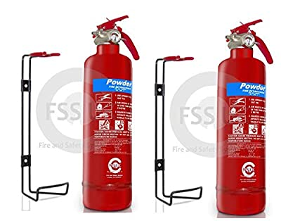 Fire Safety Essentials. 1 Kg Abc Dry Powder Fire Extinguisher, Fire Blanket And 42 Pcs First Aid Kit. Ideal For Homes, Boats, Kitchen Offices Workplaces