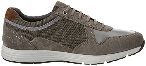 Geox Herren Uomo Dynamic B Sneaker Grau