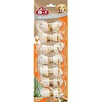 8in1 Delights Kauknochen mit eingewickeltem Hähnchenfleich Größe XS, 7 Stück, 84 g