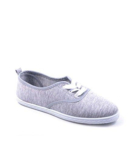 Jumex - Pantofole Donna Grau