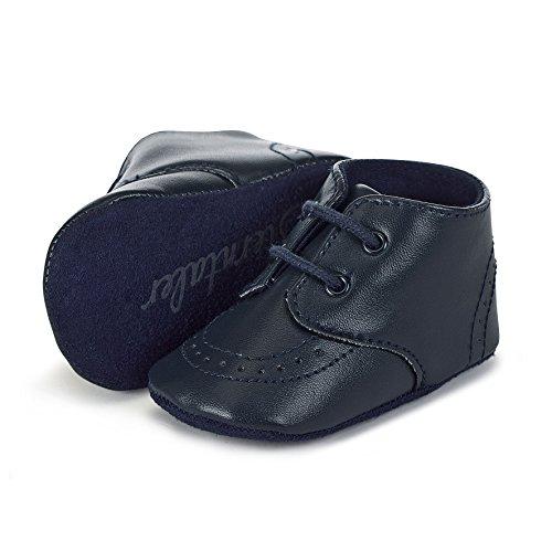 Sterntaler Erstlings-Schuh mit Schnürbänder für Mädchen, Alter: 0-3 M (14), Blau