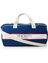 Hackett - Fawley Duffle, Shoppers y bolsos de hombro Hombre, Azul (Navy),…