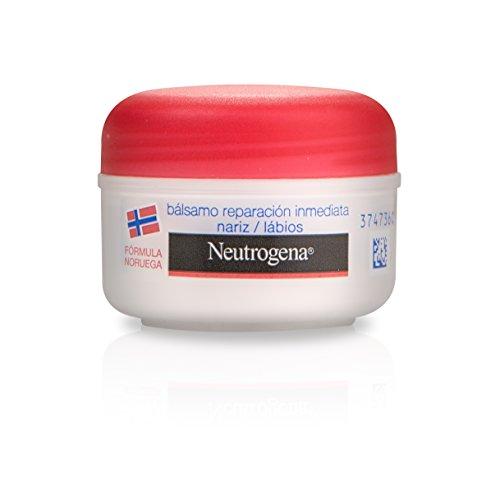 Neutrogena - Cuidado Labial , Bálsamo reparación inmediata Nariz y Labios - 15 ml