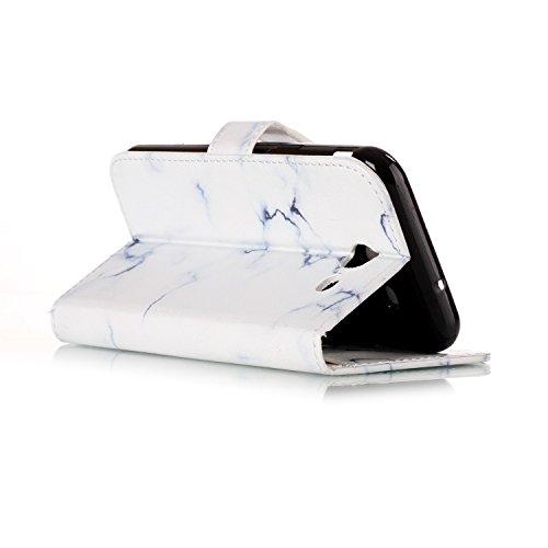 Für Samsung Galaxy J5 2017 Horizontale Flip Case Cover Luxus Blume / Marmor Textur Premium PU Leder Brieftasche Fall mit Magnetverschluss & Halter & Card Cash Slots ( Color : F ) C