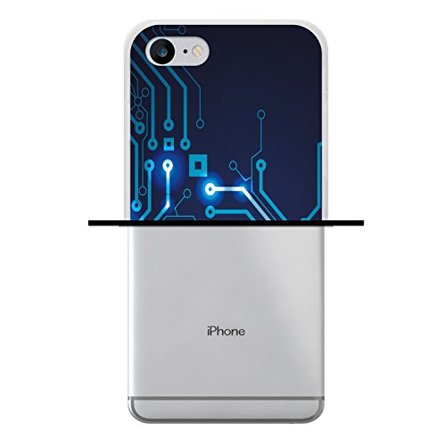 iPhone 7 Hülle, WoowCase Handyhülle Silikon für [ iPhone 7 ] Bang Boom Pow Handytasche Handy Cover Case Schutzhülle Flexible TPU - Transparent Housse Gel iPhone 7 Transparent D0042