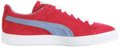 Puma Suede Classic+, Sneaker Unisex – Adulto Rosso (Chili Pepper/Forever Blue)