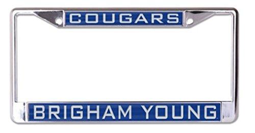 Wincraft Snack-Schale NCAA Brigham (Young Universität BYU Cougar 6x 12eingelegten Acryl/Metall Nummernschild Rahmen -