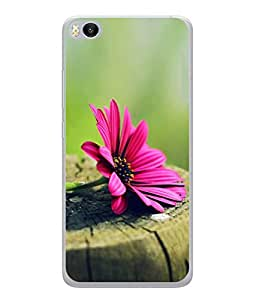 PrintVisa Designer Back Case Cover for Xiaomi Mi5S (Abstract Illustration Colorful Decorative Graphic Nature Plant)