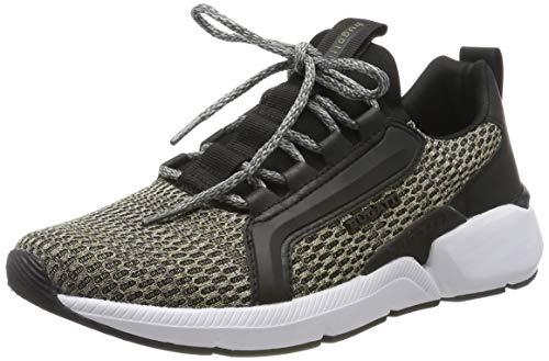 bugatti Herren 342748636900 Slip On Sneaker, Grün, 43 EU
