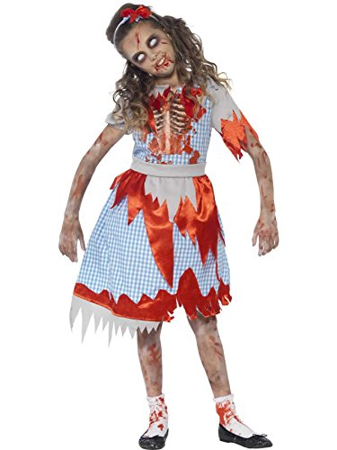 Zombie Fairytale Dorothy Fancy Dress Smiffys Halloweeen Country Girl Costume 7-9 by ()