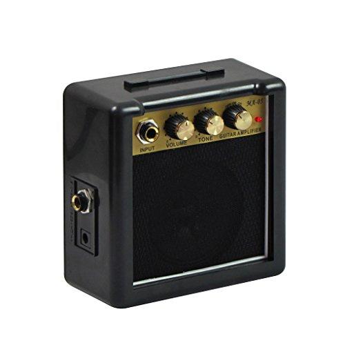 IKN portátil 5W mini guitarra amperio con clip de cinturón