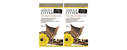 2-x-15kg-clean-n-tidy-everyday-clumping-cat-litter-multibuy