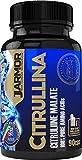 Integratore J.Armor L Citrullina Malato Pura 90 capsule da 1369 mg - Vigore Sessuale Uomo   Ossido nitrico Nox   Massa Muscolare   Booster Pre Workout Forza   Precursore dell'aminoacido Arginina