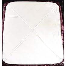 Tirantes Ajustables Para Sujetar Sábana (2 Unidades, Tipo A, Color Blanco)