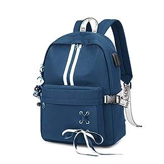 FANDARE Luminoso Mochila Mochilas Tipo Casual Bolsas Escolares Niña Bolsa de Viaje Bolsos de Mujer Adolescente Backpack School Bag Outdoor Viaje Infantiles Daypack Poliéster