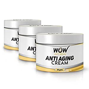 Wow Anti-Aging Cream -50 gm (Pack of 3)- Best Cream - Day and Night