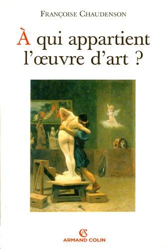 À qui appartient l'oeuvre d'art ?