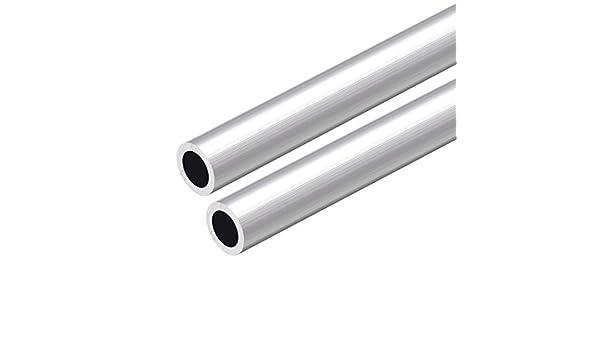 sourcing map 6063 Aluminium Rond Tube 300mm Longueur 12-13mm OD Sans Couture Aluminium Droit Tuyauterie 9mm ID x 12mm OD 3Pcs