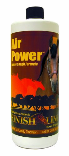 Finish Line Air Power Equine Cough Formula All-Natural Relief for Allergies Pt - Husten Formel