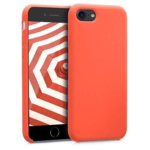 kwmobile Apple iPhone 7/8 Hülle - Handyhülle für Apple iPhone 7/8 - Handy Case in Orange