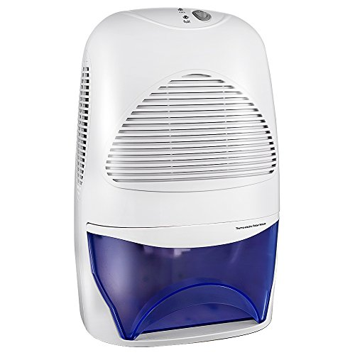 Luftentfeuchter mit 2000mL Wassertank Großvolumige Luftentfeuchter Air Dryer Luftreinigungsfunktion Feuchtigkeitsentzugfähigkeit (600ml pro Tag) für Zimmer, Schrank, Büro, Keller, Wandschrank, Badezimmer Test