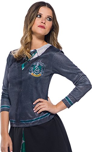 Generique - Harry Potter-Slytherin Kostüm für Damen grau-grün S (Kostüm Harry Potter Slytherin)
