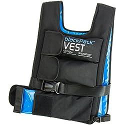 Blackpack Vest Gilet Poids Remplissage Individuel jusqu'à 25kg, Fitness, vidéo
