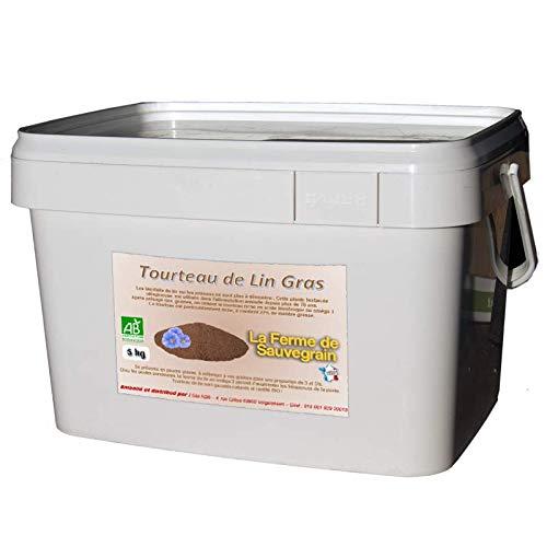 Tourteaux de graines de Lin Bio pour Poules - 5 kg
