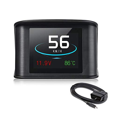 WEIWEITOE-DE Practical On-Board Driving Computer OBD Smart Digital Heads Up Car HUDP10 Essential Accessories