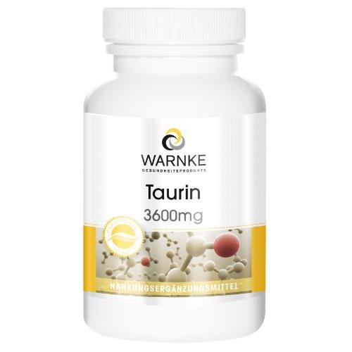 Warnke Produits de santé Taurine...