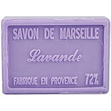 Jabón de Marsella AU de karité Pur vegetal Perfume Lavanda 100gr