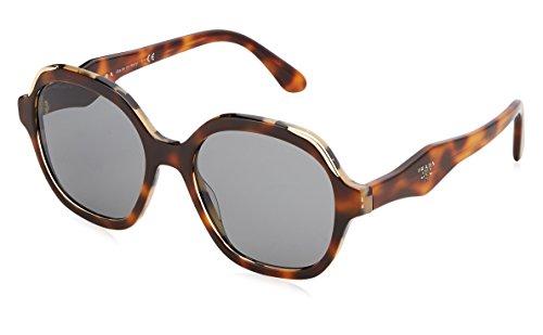 Prada Damen 0PR06US TH89K1 52 Sonnenbrille, Weiß White Havana/Grey