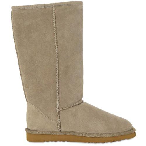 Boots Sbo013 Wildleder Farasion Beige Damen qCavwtS