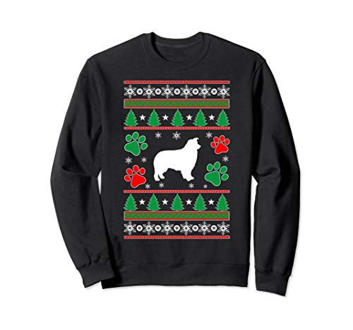 Australian Shepherd Mom lovers gift ugly Christmas  Sweatshirt Australian Shepherd Sweatshirt