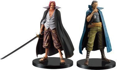 One Piece DX Figure -The Grandline Men- vol.8, set of 2 Shanks and Beckman