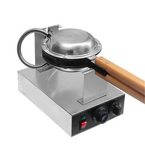 Great Stainless Steel Electric Egg cake oven QQ Egg Waffle Maker machine220v