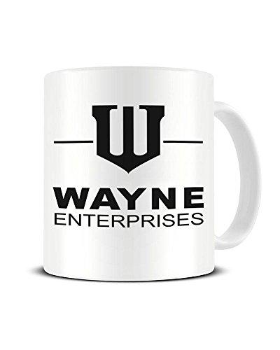 Funky NE Ltd Wayne Enterprises - Batman - Bruce Wayne - Keramik-Kaffeebecher - tolle Geschenkidee