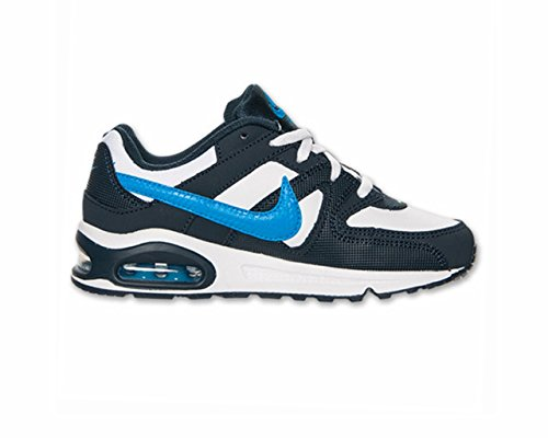 Nike Air Max Command (Ps) Scarpe Sportive, Ragazzo Blu/Bianco