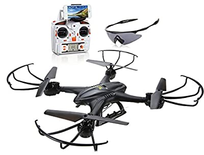 Holy Stone FPV RC Quadcopter Drone with Wifi Live Video Headless Mode by Deerc