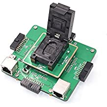 eMMC 6in1Repair Adattatore Kit Supports Medusa Pro/UFI/ATF/Easy JTAG/Riff/eMMC Pro Universale eMMC Boxes programmatore For eMMC Read Write Programming (eMMC Repair Kit)