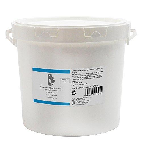 lienzos-levante-0320225001-diluyente-acrilico-pasta-relieve-bote-de-5000-ml