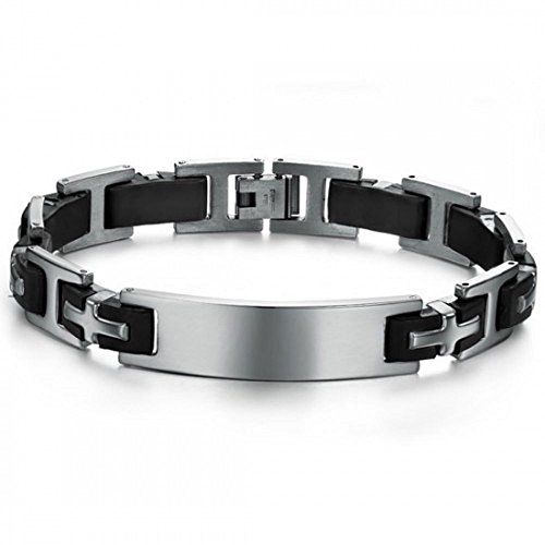 personliased-steel-and-black-silicone-id-bracelet-with-free-engraving-and-gift-box-210mm