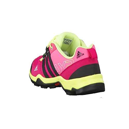 adidas Ax 2.0, Chaussures de randonnée mixte enfant Rosa / Fucsia / Negro / Lima