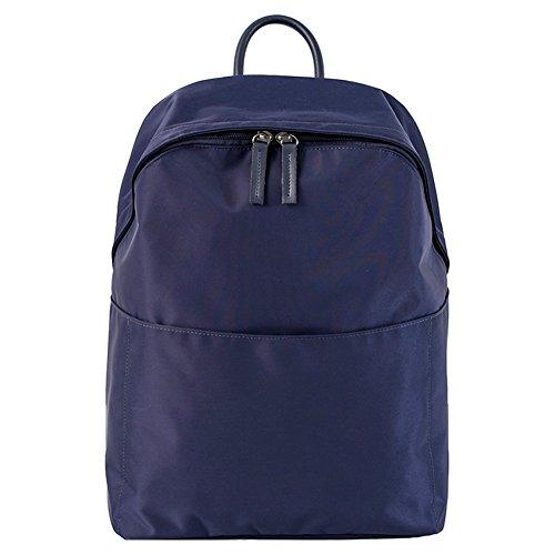 Artone Wasserabweisend Grösse Kapazität Daypacks Schulranzen Rucksack Mit Laptop-Fach Passen 14 Notizbuch Grün Wasserabweisend Oxford Tunkelblau