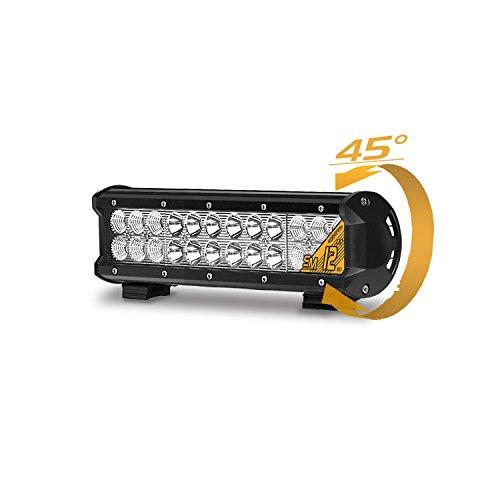 Eyourlife 12' 72W CREE LED Faro da Lavoro Luce Barra LED Auto Fari LED Auto Luci LED Auto Fari LED Fuoristrada Barra LED Fuoristrada