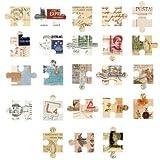 Boxed Sticker retrò Jigsaw Galleria Elementi Decorativi Alien Seal Sticker Laptop Valigia Notebook 92pcs