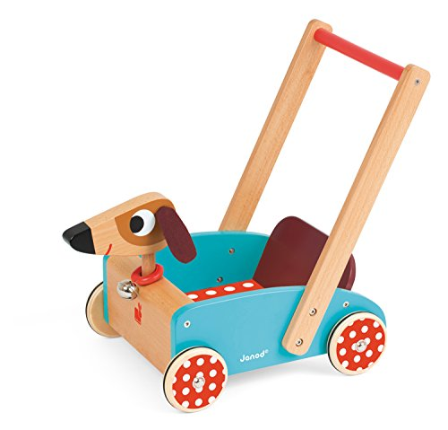 Janod J05995 - Carretto Crazy Dog