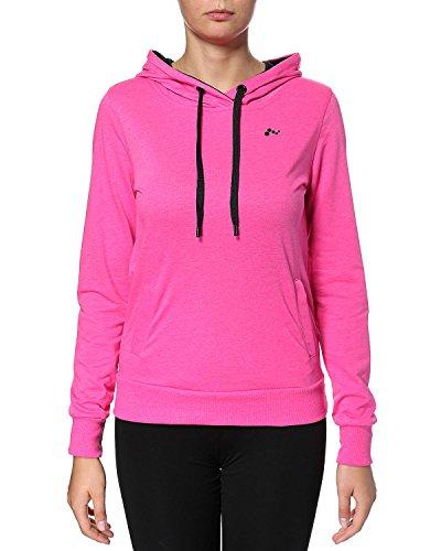 ONLY pLAY lina sweat-shirt à capuche pour femme Rose - Rose bonbon
