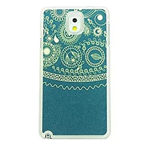 Totem Leather Vein Pattern Hard Case for Samsung Galaxy Note 3 N9000